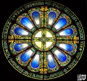 Tiffany Stained Glass Restoration Vassar College Chapel by Rohlf's Studio