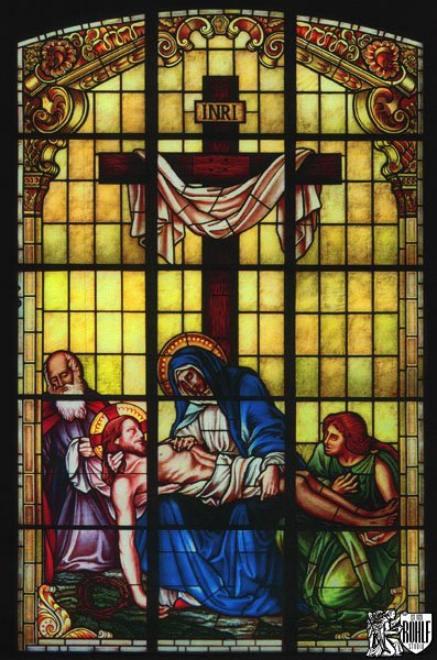 New Stained Glass For Church