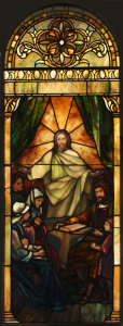 Restored window from Lafayette Presbyterian Church in Brooklyn, NY