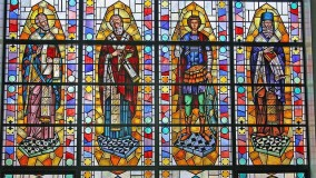 New stained glass for churches - St Andrews Greek Orthodox