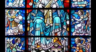 Traditional New Stained Glass Windows for St. Gabriel's Catholic Church - Charlotte, NC