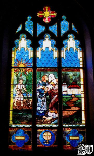 Stained Glass Window For St Lukes Roman Catholic Church