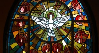 New stained glass windows by Rohlf for Holy Spirit Church - Cortland Manor, NY