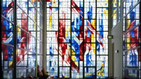 New Stained Glass Windows - Ferncliff Cemetery - Hartdale, NY