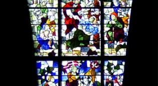New Stained Glass for Church - St. John's University - St. Thomas More Chapel - Jamaica, NY