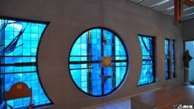 new stained glass windows for nursing home