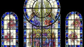 New Stained Glass Windows for Church - Archangel Michael Greek Orthodox Church
