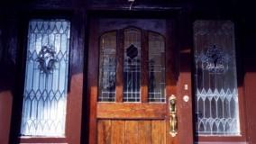 Residential Leaded Glass Windows & Doors by Rohlf's Studio