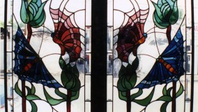 Residential Stained Glass Windows by Rohlf's Studio