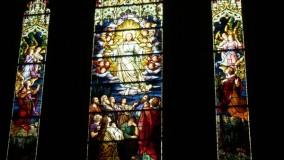 Lancet stained glass restoration - Christ Episcopal Church - Greenwich, CT