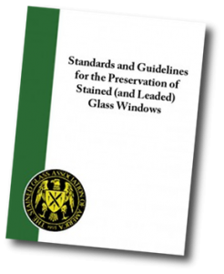 Free copy SGAA Guide - Standards and Guidelines for Preservation of Stained (and Leaded) Glass