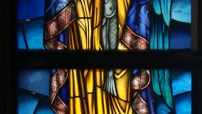 New Stained Glass Window for St Matthew's Episcopal Chuch Houma LA