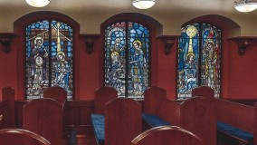 Chapel at Chestnut Hill Center Stained Glass