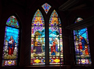 St. Matthew's Houma, LA (Window Installing)